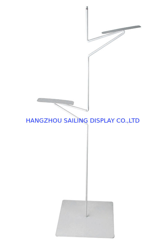 Clear Desk POS Sign Holder Display Stand With Two Wire Clips For Poster आपूर्तिकर्ता