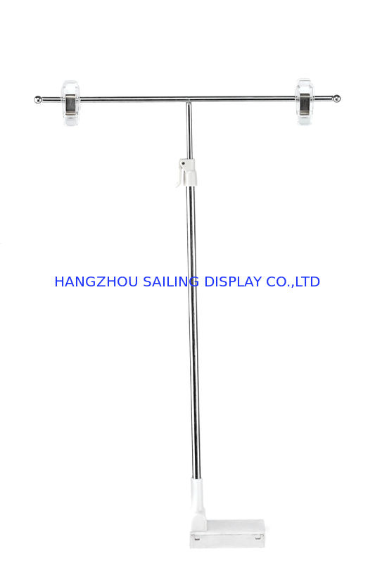 POP Magnetic Sign Holders 300mm Pole For Supermarket , Plastic Clip आपूर्तिकर्ता